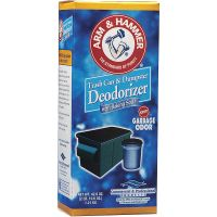 Arm & Hammer Trash Can & Dumpster Deodorizer, Sprinkle Top, Original, Powder, 42.6oz CDC3320084116
