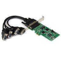 StarTech.com 4 Port PCI Express PCIe Serial Combo Card - 2 x RS232 2 x RS422 / RS485 SYNX3442295
