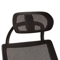 Alera Headrest for K8 Chair, Mesh, Black ALEKEHR18