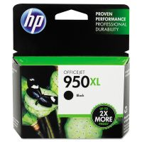 HP 950XL, (CN045AN) High Yield Black Original Ink Cartridge HEWCN045AN