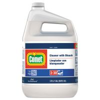 Comet Cleaner with Bleach, Liquid, One Gallon Bottle, 3/Carton PGC02291CT