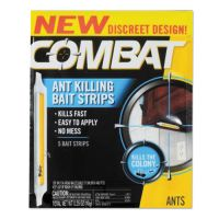 Combat Ant Bait Insecticide Strips, 0.35 oz, 5/Box DIA01000