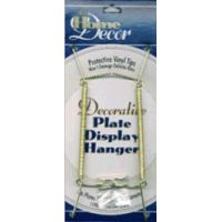 """Decorative Plate Display Hanger Expandable 7.5"""" To 9.5"""" NOTM223736"""