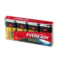 Eveready Gold Alkaline Batteries, 9V, 4 /Pk EVEA5224