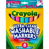 Crayola ULtra-Clean Washable Markers CYO587816