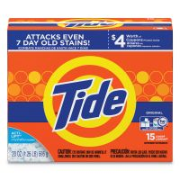 Tide Powder Laundry Detergent, Original Scent, 20oz Box PGC27782