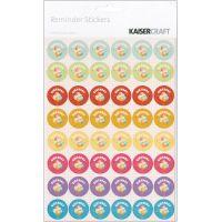 "Reminder Stickers 8.25""X5.75"" Sheets 3/Pkg NOTM476569"