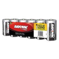 Rayovac Ultra Pro Alkaline Batteries, D, 6/Pack RAYALD6J