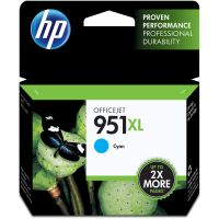 HP 951XL, (CN046AN) High Yield Cyan Original Ink Cartridge HEWCN046AN