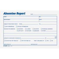 TOPS Absentee Report Form TOP12391
