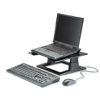 3M Notebook Riser with Adjustable Height, 13w x 13d x 4 to 6h, Black MMMLX500