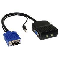 StarTech.com 2 Port VGA Video Splitter with Audio - USB Powered SYNX2715905