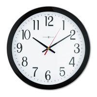 """Howard Miller Gallery Wall Clock, 16"""", Black MIL625166"""