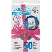 Bagettes Self-Sealing Gift Bags 50/Pkg NOTM153825