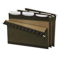 Pendaflex Ready-Tab Reinforced Hanging Folders, 1/3 Tab, Letter, Green, 25/Box PFX42620