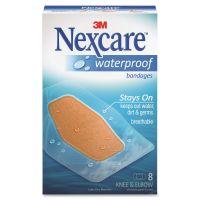Nexcare Waterproof Knee & Elbow Bandages MMM58108
