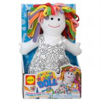 ALEX Toys Color & Cuddle Washable Doll Kit NOTM152427
