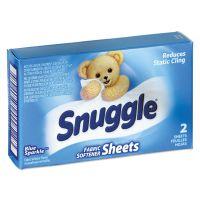 Snuggle Vend-Design Fabric Softener Sheets, Blue Sparkle, 2 Sheets/Box, 100 Boxes/Carton VEN2979929