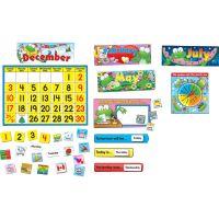 Carson Dellosa Frog Calendar Bulletin Board Set  CDP110076