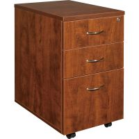 Lorell Essentials 3-Drawer Mobile File Cabinet LLR69430