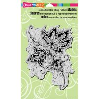 """Stampendous Cling Stamp 7.75""""X4.5"""" NOTM017922"""