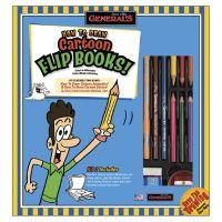 How To Draw Cartoon Flip Books! Kit NOTM413966