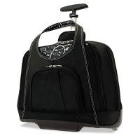 Kensington Contour Balance Rolling Netbook Case,18w x 9d x 13-1/2h, Black KMW62533