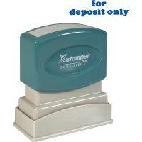 "Xstamper ""for deposit only"" Title Stamp XST1333"