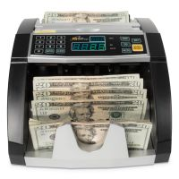 Royal Sovereign Electric Bill Counter, 1000/Bills/Min, 12 3/8 x 9 7/8 x 6 1/2, Black/Silver RSIRBC660