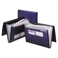 Pendaflex Professional Expanding Document Organizer, Letter, 7 Pockets, Blue PFX52670