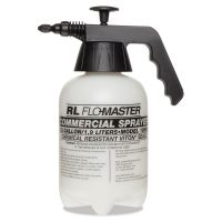R. L. Flomaster Hand Sprayer with Adjustable Nozzle, Polyethylene, 64 oz, Black/White RLF1985LG