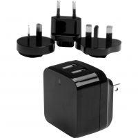 StarTech.com Dual Port USB Wall Charger - High Power (17 Watt / 3.4 Amp) - Travel Charger (International) SYNX4119147