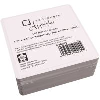 "Zentangle Apprentice Refill Tiles 4.5""X4.5"" 140/Pkg NOTM229936"