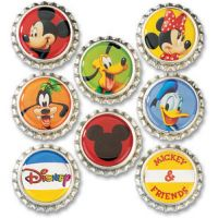 Disney Bottle Caps 8/Pkg NOTM287015
