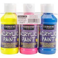 Acrylic Paint Set 4oz 6/Pkg NOTM498130