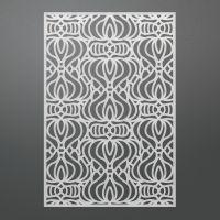 "Ultimate Crafts Bohemian Bouquet Background Die 5.5""X3.7"" NOTM283804"