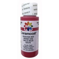 Ceramcoat Rooster Red Acrylic Paint  NOTM263949