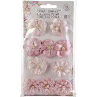 Santorini Pearlescent Paper Flowers 10/Pkg NOTM467075