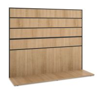 HON Manage Series Work Wall, Laminate, 60w x 17d x 50h, Wheat BSXMGWKWLWHA1