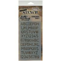 """Tim Holtz Layered Stencil 4.125""""X8.5"""" NOTM258330"""