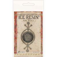 Ice Resin Rune Bezel Round NOTM378610