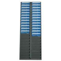 Pyramid 500-4 40 Pocket Badge Rack SYNX3386913