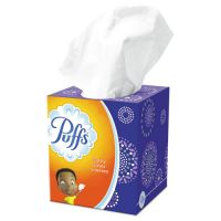 """Puffs Facial Tissue, 2-Ply, White, 8 1/5"""" x 8 2/5"""", 24/Carton PGC84405"""