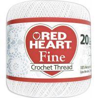 Red Heart Fine Crochet Thread - White NOTM477618