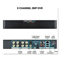 Night Owl 8 Channel Extreme HD 3MP DVR, 1080p Resolution NGTDVRX38