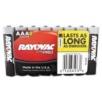 Rayovac Ultra Pro Alkaline Batteries, AAA, 8/Pack RAYALAAA8J