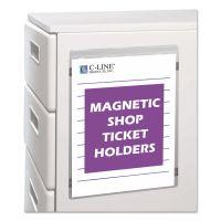 C-Line Magnetic Shop Ticket Holder, Super Heavy, 50 Sheets, 9 x 12, 15/BX CLI83912