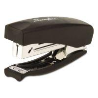 Swingline Soft Grip Half Strip Hand Stapler, 20-Sheet Capacity, Black SWI09901