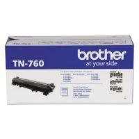 Brother TN760 High-Yield Toner, 3000 Page-Yield, Black BRTTN760