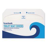 Boardwalk Premium Half-Fold Toilet Seat Covers, 250 Covers/Sleeve, 4 Sleeves/Carton BWKK1000